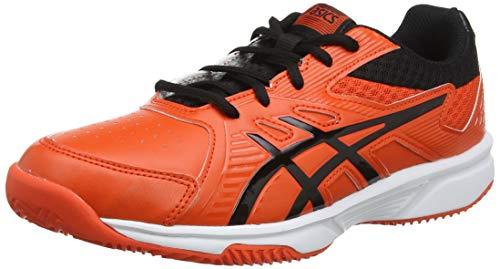 ASICS Court Slide Clay GS, Scarpe da Tennis Unisex Bambini, Rosso (Cherry Tomato/Black 808), 38 EU