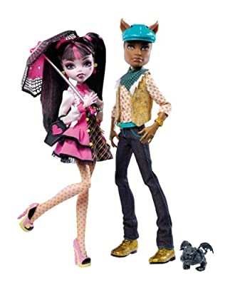 Monster High V7961 - Draculaura Y Clawd Wolf (Mattel) de Mattel