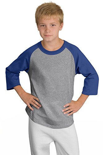 LLJY Sport-Tek YT200 Youth Colorblock Raglan Jersey (Raglan-jersey-shirt Colorblock)