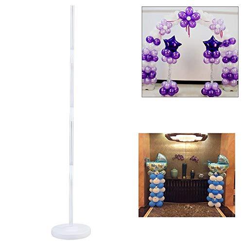 Ballon Spalte Stehen Kits für Hochzeit Party Weihnachten Dekoration Arch Stehen mit Rahmen Basis und Pol Ballons Zubehör -