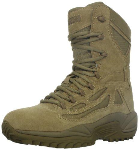 Reebok Work Men's Rapid Response RB8896 Safety Boot,Desert Tan,6 M US image