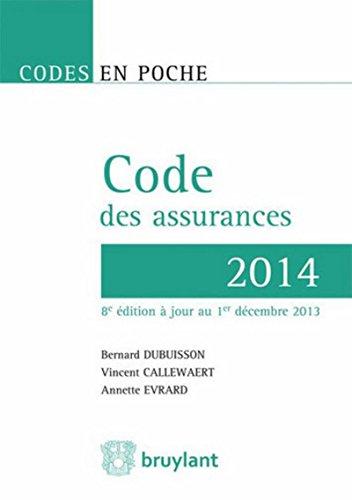 Code des assurances 2014