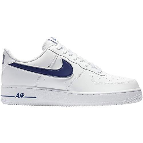best loved 8cd2a 766b7 Nike Herren Air Force 1  07 AO2423-103 Sneaker, Weiß (White)