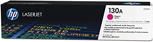 HP 130A Original Toner (geeignet für HP Color Laserjet Pro M176n, HP Color Laserjet Pro M177fw) rot (Hp Color Laserjet Black Toner)