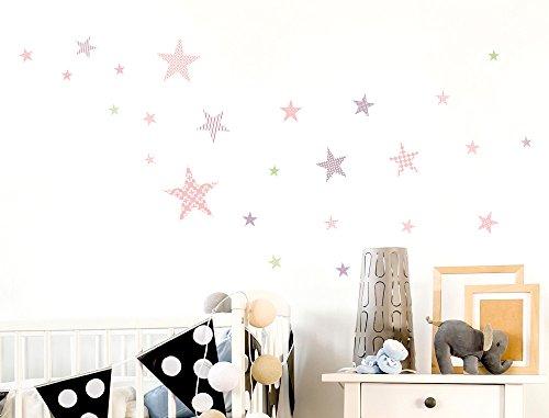i-love-wandtattoo-was-10106-set-de-pegatinas-de-pared-para-habitacion-infantil-estrellas-con-el-patr
