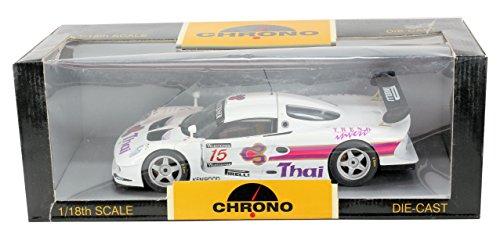 chrono-118-diecast-model-white-1997-lotus-elise-gt1-thai-15-very-rare