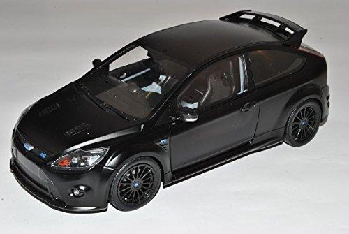 ford-focus-rs-2008-2010-matt-schwarz-3-turer-da3-1-18-minichamps-modell-auto