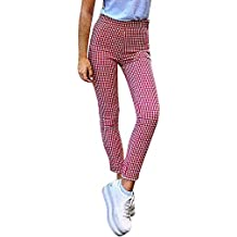 gran variedad de zapatos elegantes nueva colección Amazon.es: pantalones de cuadros mujer - 3 estrellas y más