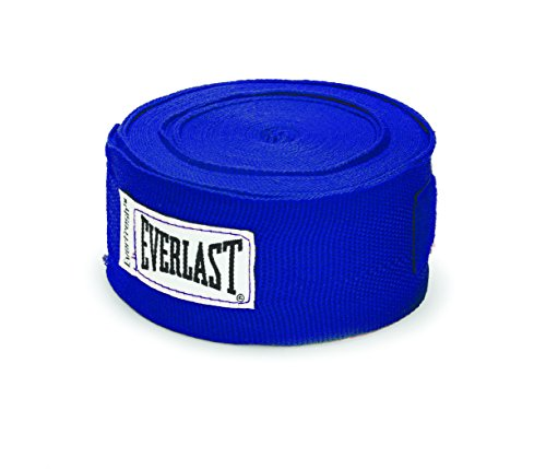 Bande Bandage Boxe Main Everlast 4,57m - Bleu (Blue) - Taille Unique
