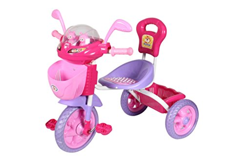 HLX-NMC KIDS SPACE SHIP TRICYCLE PINK/PURPLE  available at amazon for Rs.1675