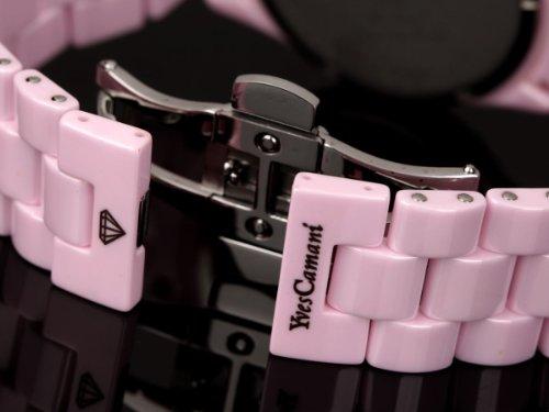 Yves Camani Damen-Armbanduhr Yves Camani Damenuhr Nancy Pink Analog Quarz YC1011-A - 4