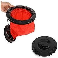 Dioche Cubierta de la Cubierta de Kayak, Kit de Placa de Cubierta de la Cubierta Negro Bolsa de Almacenamiento para Kayak Boat Marine