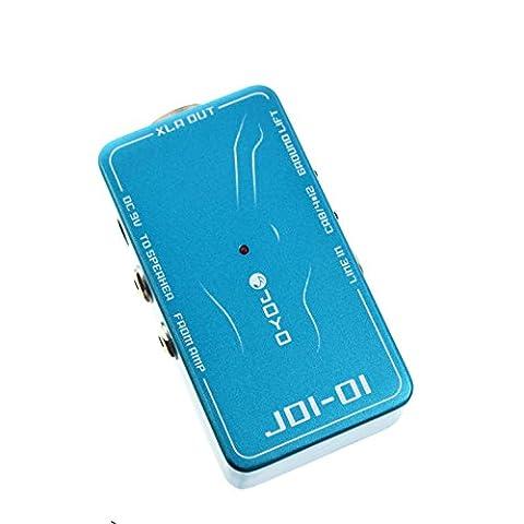 Joyo jdi-01 di box avec simulation d'ampli pour guitare électrique ou acoustique