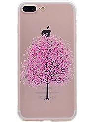 Iphone5/5S/SE Teléfono Móvil, fubaobao transparente ultrafino tpu, bonita forma y manera?Ultrafina Impresión Diseño