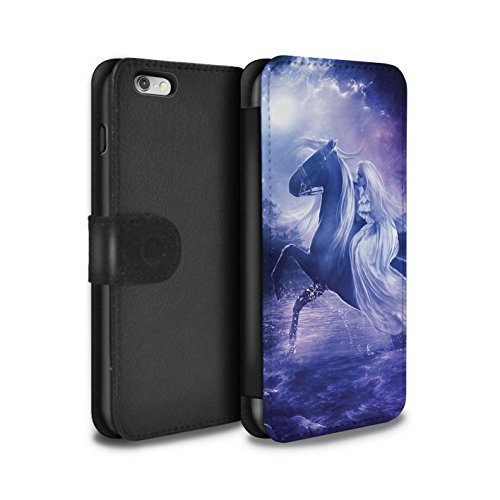 Officiel Elena Dudina Coque/Etui/Housse Cuir PU Case/Cover pour Apple iPhone 6+/Plus 5.5 / Cyborg Design / Super Héroïne Collection Amazona