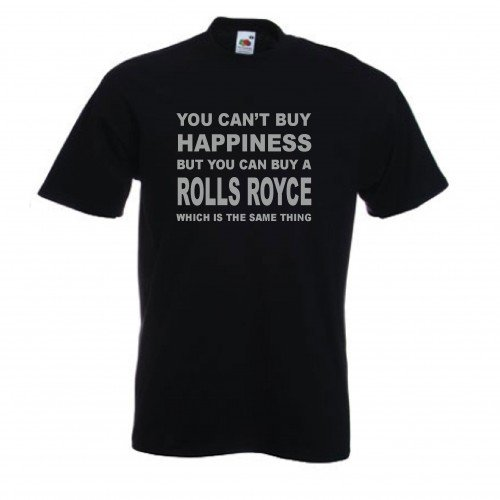 you-cant-buy-happiness-but-you-can-buy-a-rolls-royce-funny-t-shirt-sizes-s-xxl-various-colours