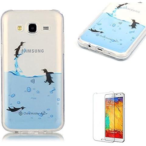 Samsung Galaxy J5 (2015 Model) Custodia,Funyye Morbida