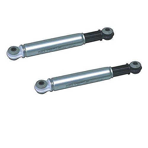 Stoßdämpfer Reibdämpfer für Waschmaschine Waschtrockner 8mm 120 N Bohrung - 2er Set für Miele W700 W800 W900 Serien -
