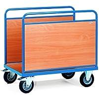 For Demand mttdj2541F 500carrello trasporto con pareti 2Pannelli Laterali, 200kg Ricarica, 1000mm x 600mm piattaforma