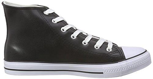 Nebulus Voll-Leder-Evo, Sneakers Hautes Homme Noir (Black)