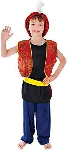 Ali Kostüm Baba - Fancy Me Jungen Arabisch Aladdin Ali Baba Büchertag Kostüm Kleid Outfit 4-14 Jahre - 7-9 Jahre