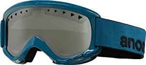 Anon Mens Snowboard Goggles Helix Non Mirror blue abyss/amber Size:One Size