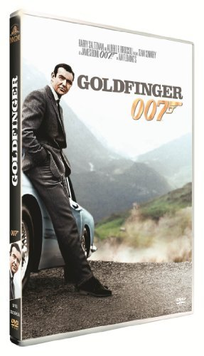JAMES BOND 007-Goldfinger by Sean Connery