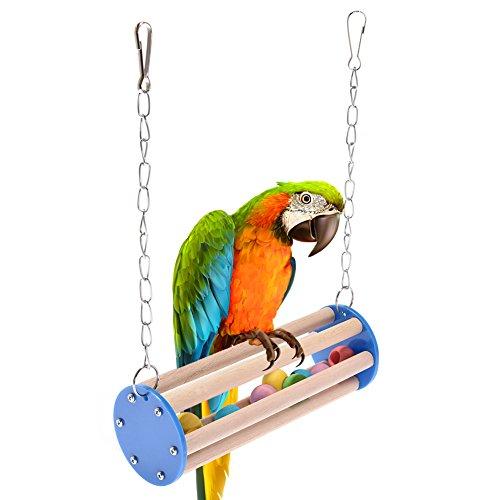 Somedays Play Toys Small Pet Animal Parrot Swing chewing uccello giocattolo amaca per criceti parco giochi divertenti giocattoli piccolo animale masticare giocattolo