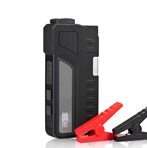 DMQNA Mini Portable 18000Mah Pack Auto Starthilfe, Multifunktions-Notladegerät Booster Energienbank Batterie 1000A, AC Ausgang 120V -