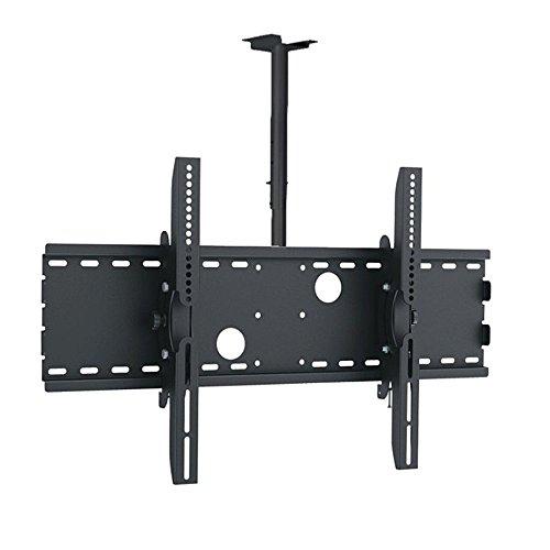 MACLEAN MC-541 B - MONTAJE SOPORTE DE TECHO PARA PANTALLA LCD LED TV (37-70  75KG  VESA) COLOR NEGRO