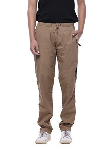 JTInternational Khakhi Regular Fit Men's Cargo Track Pant