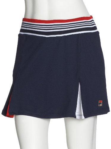 FILA Damen Tennisrock, navy, S, UA00058418 (Tennis Fila Rock)