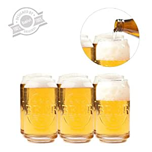 Balvi 25373 bicchiere da birra prost set 6 bicchieri in for Bicchieri birra prezzi