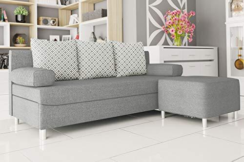 Ecksofa Couch –  günstig Schlafsofa Dover Sofa kaufen  Bild 1*