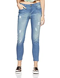 Jealous 21 Women's Tapered Fit Jeans