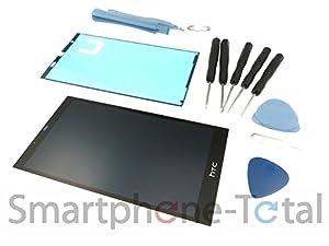 NG-Mobile Original HTC Desire 530 Displaymodul LCD Display Touchscreen Glas Scheibe, schwarz + Kleber + Werkzeug