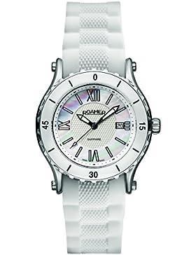 Roamer Damen-Armbanduhr C3 - Refined Analog Quarz AEU980 4122 PE