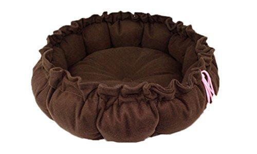Hengsong Carino Morbido Citrouille Bello Cani/Animale/Pet/Gatto Cuscino Caldo Letto Cuccia Casa Cestini (Caffè) - Casa Casa Miscela Di Caffè
