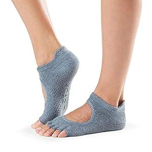 Toesox Halbzehe Bellarina Grip Socken, Herbst/Winter 2018