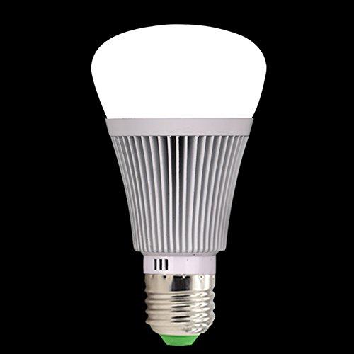 Molie Smart Lampe 7W RGB Glühbirne Led Wifi Lampen Dimmbar E27 Wlan Lampe mit Amazon Alexa,Google Home,Steuerbar via App - 9