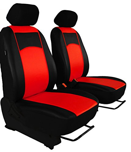 Sitzbezug maß Bus 1 + 1 Sitzer Kunstleder 7 Farben für Vito W 638 1996-2003 - Sitzbezug Ford 1998