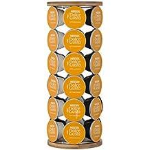Le'Xpress Revolving - Dispensador de cápsulas de café Dolce Gusto (bambú, repujado, con tapa)