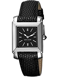 Pierre Cardin Damen-Armbanduhr Le Lustre Analog Quarz Leder Swiss Made