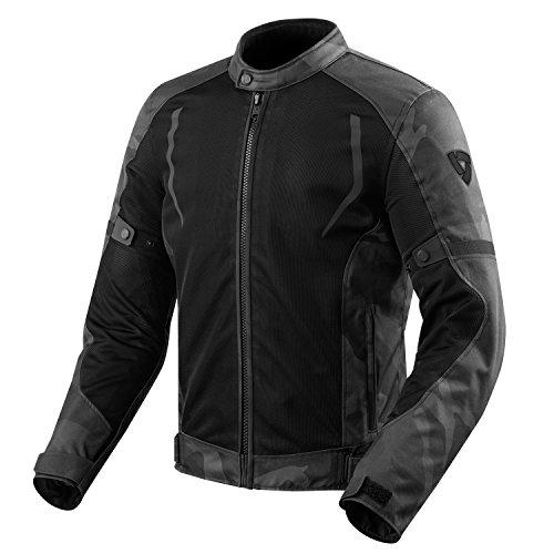 Chaqueta de moto textil Torque de Revit; con Hydratex, impermeable, malla G-Liner...
