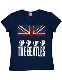 The Beatles dunkelblau LOGOSHIRT Baby Body Strampler Yellow Submarine