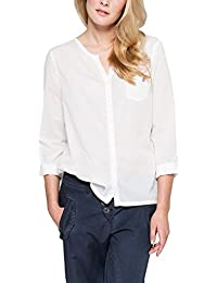 Comma CI Damen Regular Fit Bluse 80.899.11.1738