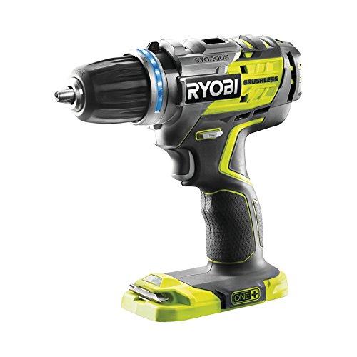 Ryobi R18DDBL-0 (18 V / Ohne Akku / 3-teilig)