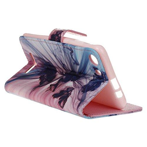 Ukayfe Portafoglio Flip Case Cover con chiusura magnetica per iPhone 6/6S plus in pelle - Elegante Bookstyle Custodia di alta qualità Con Stilo Penna-(Con cordino)pinguino (Con cordino)fantasma dellOpera