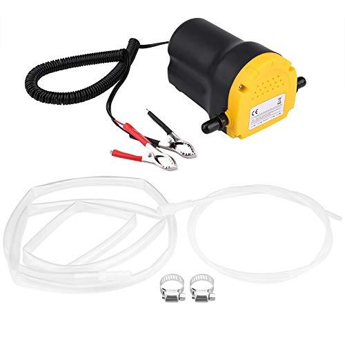 Estrattore di fluido diesel - Pompa di trasferimento diesel for olio motore aspiratore DC 12V 60W 250L / ora for auto moto Qu