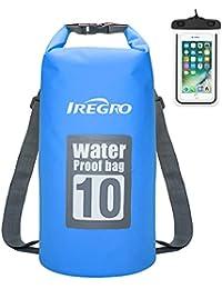 IREGRO Trockentasche Trockenbeutel Dry Bag Wasserdichter Brustbeutel Dokumententasche Handyhülle Wasserdichter Sack Packsack